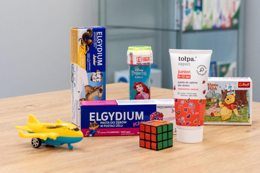 Leczenie dzieci i nagrody dla dzielnych pacjentów