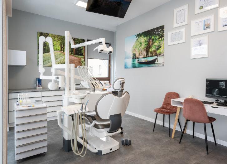 Przyjemna wizyta u dentysty