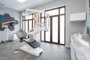Nowoczesne wnÄ™trze u dentysty